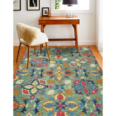 Norwalk Transitional Hand Tufted Area Rug