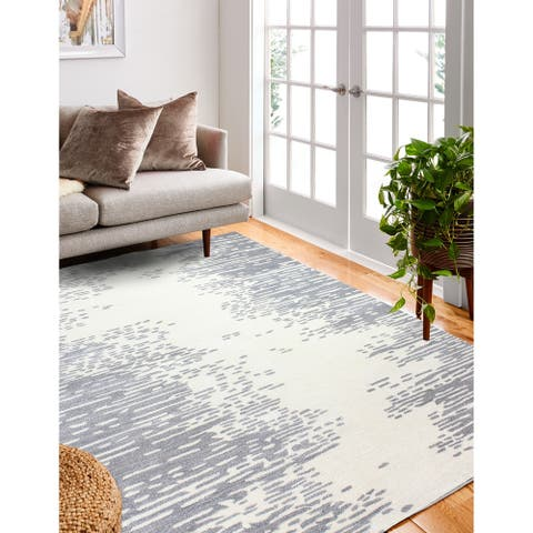 Moxie Contemporary Hand Tufted Area Rug