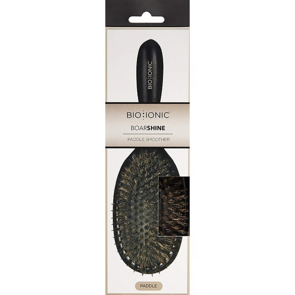 Bio Ionic Boarshine Paddle Smoother Brush