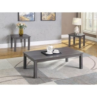 Best Master Furniture 3 Pieces Coffee Table Set