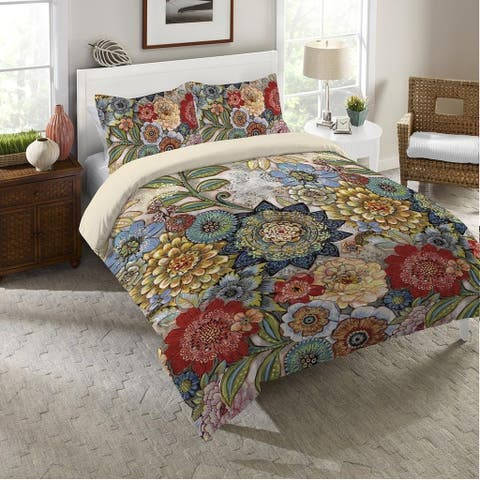 Boho Bouquet Sham - Multi