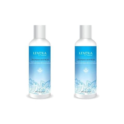 Lemyka Baby 2 Pack Gentle Shampoo and Wash