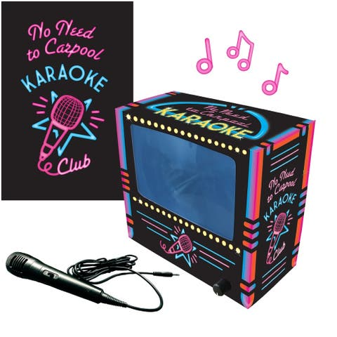 The 'No Need to Carpool' Karaoke Set - Works with Your Mobile Phone
