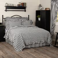 Farmhouse Bedding VHC Annie Buffalo Check Coverlet Cotton Buffalo Check