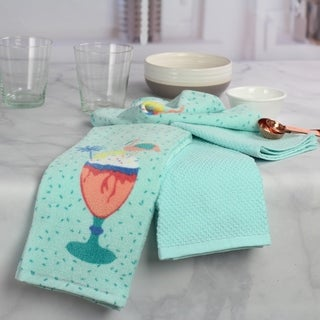 Oh Hello - 4 Pack Kitchen Towel Set