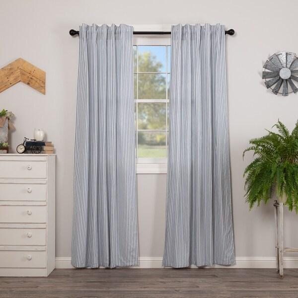 Shop VHC Brands Farmhouse Curtains Miller Farm Ticking