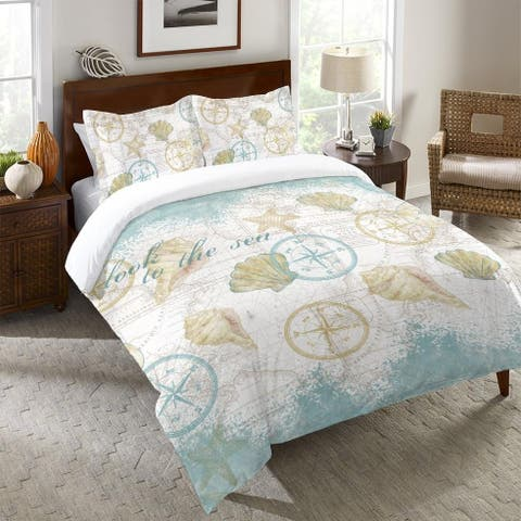 Look to the Sea Queen Duvet