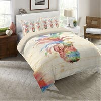 Colorful Pineapple Twin Duvet
