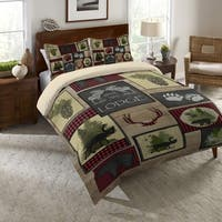 Lumberjack Plaid Queen Duvet