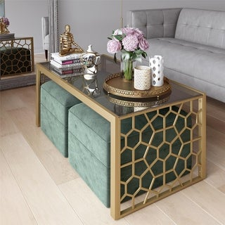 Shop Cosmoliving By Cosmopolitan Juliette Coffee Table And