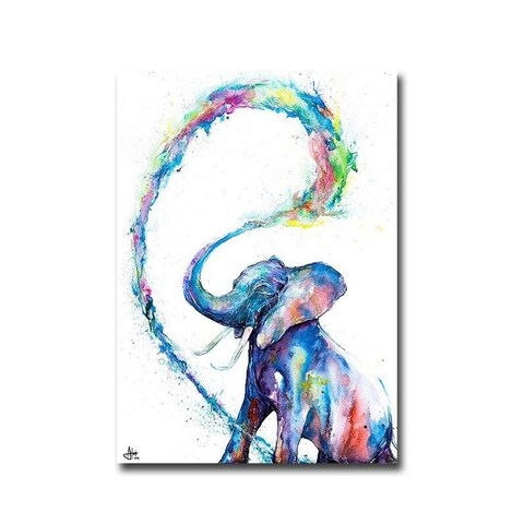 Veris by Marc Allante Gallery Wrapped Canvas Giclee Art (28 in x 20 in, Ready to Hang)