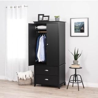 Link to Prepac Yaletown 2-Door Armoire Similar Items in Bedroom Furniture