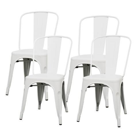 Metropolis Metal Side Chair,Set of 4 - na