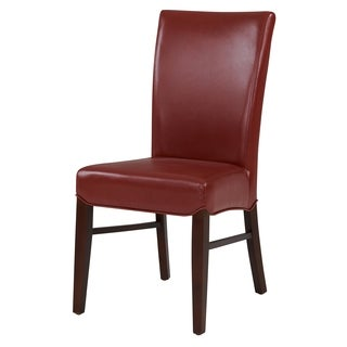 Milton Bonded Leather Dining Chair,Set of 2 - na