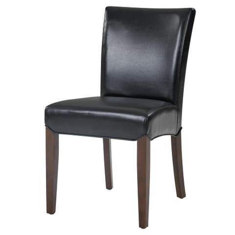 Beverly Hills Bonded Leather Dining Chair,Set of 2 - na