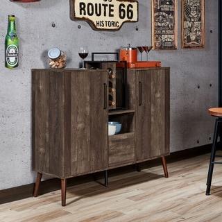 Link to Carson Carrington Aberdour Rustic Reclaimed Oak Buffet Similar Items in Home Bars