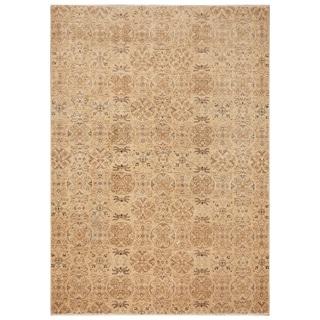 Handmade Vegetable Dye Khotan Wool Rug (Afghanistan) - 6'5 x 8'8