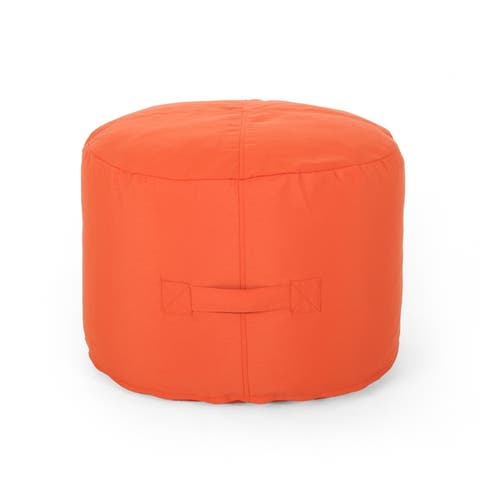 Simpao Indoor Water Resistant Ottoman Pouf by Christopher Knight Home
