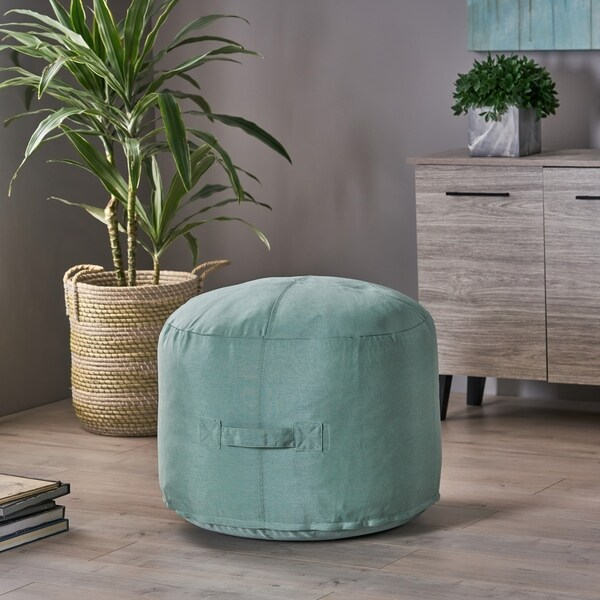 Shop Simpao Indoor Water Resistant Ottoman Pouf By