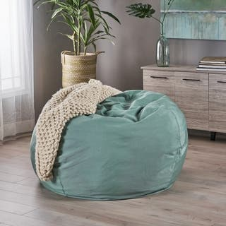 Rothrock Indoor Water Resistant 4.5' Bean Bag by Christopher Knight Home
