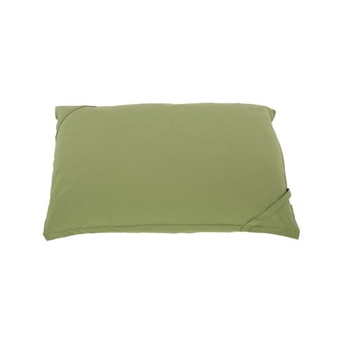 Costa Alegre Outdoor 5.5'x4' Lounger Bean Bag by Christopher Knight Home