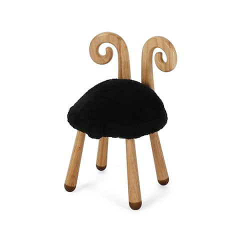 Rose Red's Stoolimals Collection Faux Sheep Stool by Christopher Knight Home