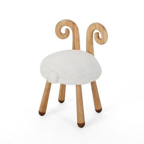 Rose's Children's Sheep Stool by Christopher Knight Home