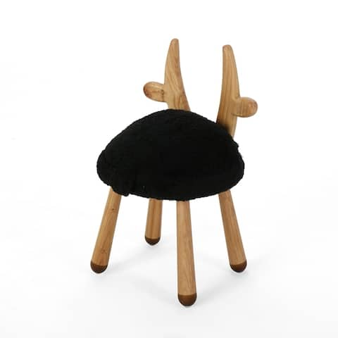 Rose Red's Stoolimals Collection Faux Gazelle Stool by Christopher Knight Home