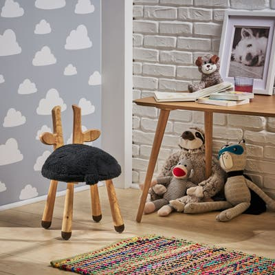 Rose's Children's Deer Stool by Christopher Knight Home