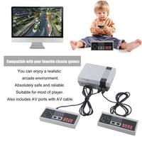 620 In 1 TV Video Games Console Classic Handheld Game Player 8 Bit Console - red & beige