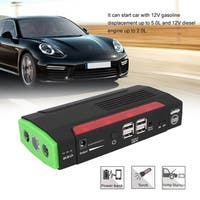 68800mAh 12V Car Charger Jump Starter Portable Power Booster Emergency Battery - Black