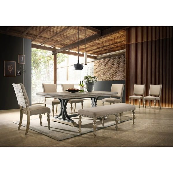 Shop Birmingham Nailhead 8 Piece Table With Nail Head