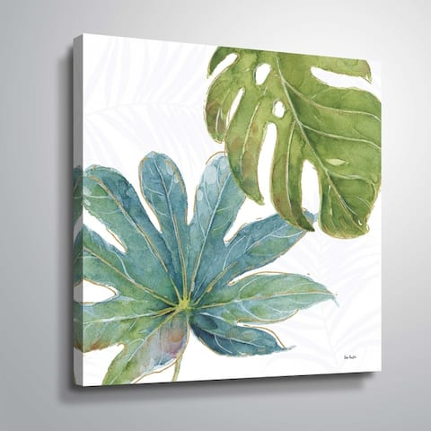 """ArtWall """"Tropical Blush VII"""" Gallery Wrapped Canvas"""