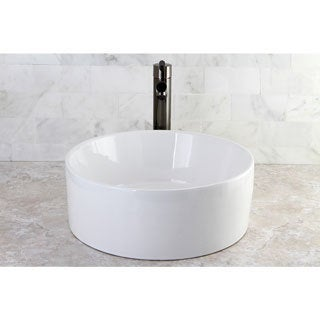 Park Vessel White China Sink