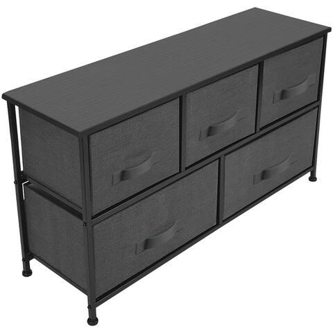 Storage Cube Dresser - Black
