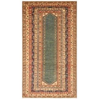 Handmade Super Kazak Wool Rug (Afghanistan) - 5'3 x 9'5