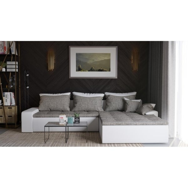 Shop Brandon Sectional Sleeper Sofa - On Sale - Free Shipping Today ...