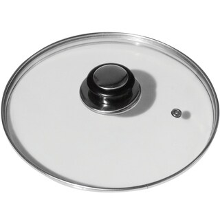 Evelots 8 Inch Tampered Glass Lid