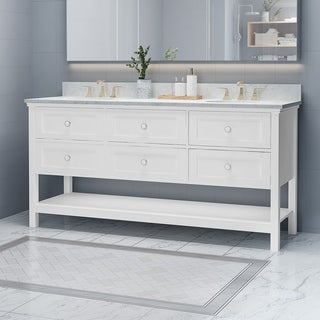 """Douvier 72"""" Wood Bathroom Vanity (Counter Top Not Included) by Christopher Knight Home"""