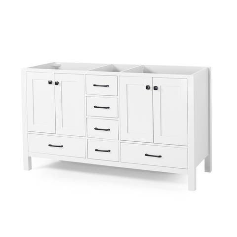"""Laranne 72"""" Wood Bathroom Vanity (Counter Top Not Included) by Christopher Knight Home"""