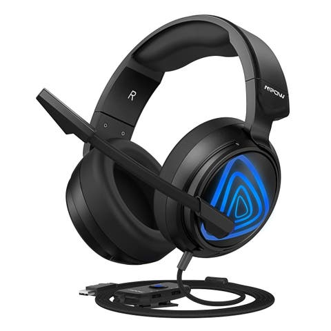 Mpow EG8 Gaming Headset Stereo Sound Over-Ear Gaming Headphones with 50mm Driver