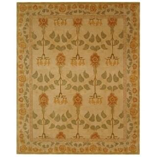 Safavieh Handmade Anatolia Elisabeth Traditional Oriental Wool Rug (9 x 12 - Ivory)