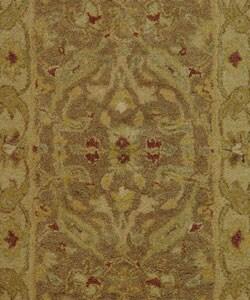 Safavieh Handmade Antiquities Treasure Brown/ Gold Wool Rug (2' x 3') - Thumbnail 1