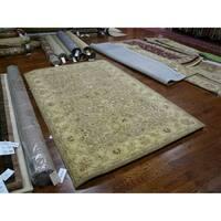 Safavieh Handmade Antiquities Treasure Brown/ Gold Wool Rug - 5' x 8'
