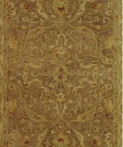 Safavieh Handmade Antiquities Treasure Brown/ Gold Wool Rug (6' x 9') - Thumbnail 1