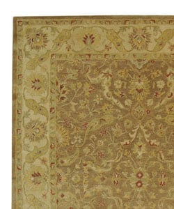 Safavieh Handmade Antiquities Treasure Brown/ Gold Wool Rug (7'6 x 9'6)