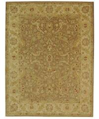 Safavieh Handmade Antiquities Treasure Brown/ Gold Wool Rug - 7'6 x 9'6