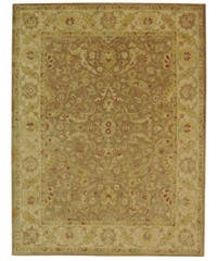 Safavieh Handmade Antiquities Treasure Brown/ Gold Wool Rug - 8'3 x 11'