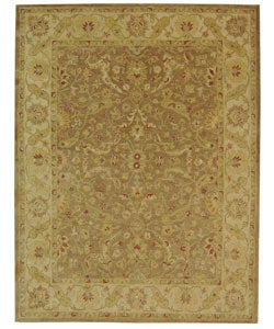 Safavieh Handmade Antiquities Treasure Brown/ Gold Wool Rug - 9'6 x 13'6 - Thumbnail 0