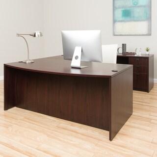 Boss Bow-front Workstation Desk